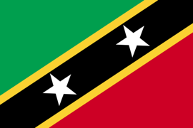 Saint Kitts ve Nevis Bayrağı
